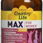 Country Life Women's Health – Max for Women with Iron – 120 Tablets