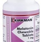 Kirkman Nervous System Support – Melatonin Chewable 1 mg – 100 Tablets