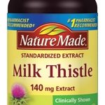 Nature Made Liver Support – Milk Thistle Extract 140 mg – 50 Capsules