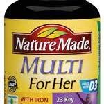 Nature Made Women's Health – Multi For Her – 90 Tablets