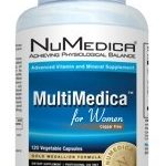 NuMedica Women's Health – MultiMedica for Women – 120 Vegetable