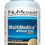NuMedica Multivitamins – MultiMedica without Iron – 120 Vegetable