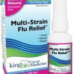 King Bio Homeopathic Remedies – Multi-Strain Flu Relief – 2 fl. oz (59