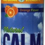Natural Vitality Nervous System Support – Natural Calm, Orange