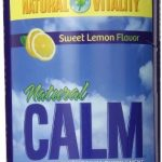 Natural Vitality Nervous System Support – Natural Calm, Sweet Lemon