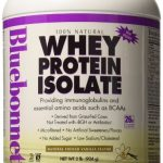 Bluebonnet Nutrition Protein – 100% Natural Whey Protein Isolate