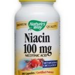 Nature's Way Cardiovascular Support – Niacin 100 mg – 100 Capsules