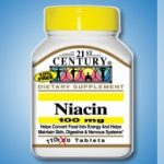 21st Century Metabolic Support – Niacin 100 mg – 110 Tablets