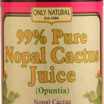 Only Natural Metabolic Support – Nopal Cactus Juice – 32 fl. oz (946