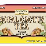 Only Natural Metabolic Support – Nopal Cactus Tea – 20 Bags