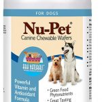 Ark Naturals Dogs – Nu-Pet Canine Chewable Wafers – 90 Wafers