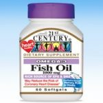 21st Century Cardiovascular Support – Omega 3 Fish Oil 1000 mg – 60