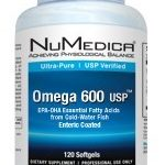 NuMedica Essential Fatty Acids – Omega 600 USP EC – 120 Softgels