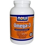NOW Cardiovascular Support – Omega-3 (Molecularly Distilled) – 500