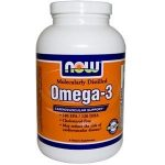 NOW Cardiovascular Support – Omega-3 (Molecularly Distilled) – 90