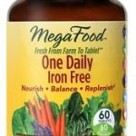 MegaFood Multivitamins – One Daily Iron Free – 60 Tablets