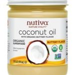 Nutiva Baking and Cooking – Organic Buttery Coconut Oil – 14 fl. oz