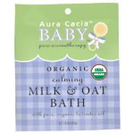 Aura Cacia Mood and Relaxation – Organic Calming Milk and Oat Bath –