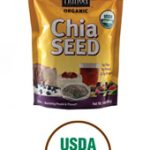 Nutiva Greens and Superfoods – Organic Chia Seed – 6 oz (170 Grams)