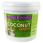Divine Organics Sugar Alternatives – Organic Coconut Sugar – 2.9 lbs