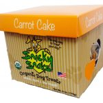 Snicky Snaks Dogs – Organic Dog Treats- Carrot Cake – 8 oz (227 Grams)