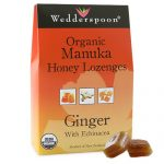 Wedderspoon General Health – Organic Manuka Honey Lozenges Ginger with