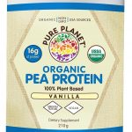 Pure Planet Protein – Organic Pea Protein Vanilla Flavor – 10 Servings
