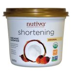 Nutiva Baking and Cooking – Organic Red Palm Shortening – 15 oz (425