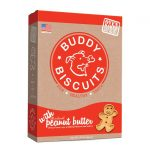 Buddy Biscuits Dogs – Original Oven Baked Treats, Peanut Butter Flavor