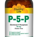 Country Life Nervous System Support – P-5-P (Pyridoxal-5-Phosphate) 50