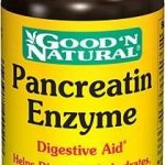 Good and Natural Metabolic Support – Pancreatin Enzyme – 100 Tablets