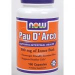 NOW Herbals/Herbal Extracts – Pau D'Arco 500 mg – 100 Capsules