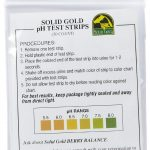 Solid Gold Accessories – pH Test Strips – 50 Count