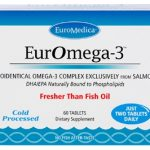 EuroMedica Essential Fatty Acids – EurOmega-3 – 60 Tablets