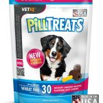 VetIQ Dogs – Pill Treats for all Dog Sizes, Chicken Flavor – 30