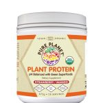 Pure Planet Protein – Plant Protein Strawberry Mango Flavor – 28