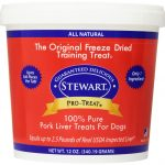 Stewart Dogs – Pork Liver Freeze Dried Tub for Dogs – 12 oz (340.19