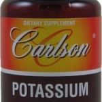 Carlson Labs Minerals – Potassium 99 mg – 100 Tablets