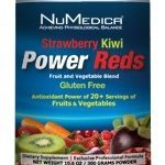 NuMedica Greens & Superfood Supplements – Power Reds Strawberry Kiwi –