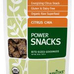 Navitas Naturals Snacks – Power Snacks Citrus Chia – 8 oz (227 Grams)