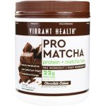 Vibrant Health Sports Drinks and Mixes – Pro Matcha Chocolate Flavor –