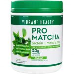 Vibrant Health Sports Drinks and Mixes – Pro Matcha Natural Flavor –