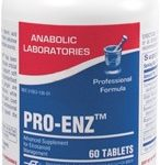 proenz-60-tan-and-white-speckled-tablets-by-anabolic-laboratories
