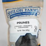 Shiloh Farms Snacks – Prunes, Organic – 15 oz (425 Grams)