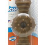 Nylabone Dogs – Puppy Chew Ring Bone (Souper Dogs, 50+ Lbs / 23+ Kg),