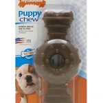 Nylabone Dogs – Puppy Chew Ring Bone (Wolf Dogs, Up To 35 Lbs / 16