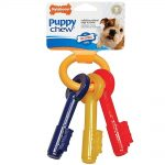 Nylabone Dogs – Puppy Chew Teething Keys (Extra Small Dogs, Up To 15