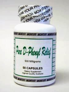 pure-dphenyl-relief-500-mg-50-capsules-by-montiff