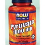 NOW Sports Nutrition Supplements – NOW Sports – Pyruvate Extra