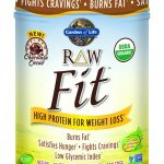 Garden of Life Weight Management – RAW Fit Protein Chocolate Powder –